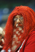 Curling Canada Fans Beard Red Hair — Stock Photo