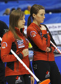 Curling Women Canada Homan Miskew — Stock Photo