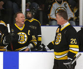 Boston Bruins Alumni Hockey Game Middleton Sweeney — Stock Photo