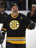 Boston Bruins Alumni Hockey Game Jay Miller — Stock Photo
