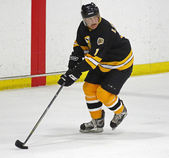 Boston Bruins Alumni Hockey Game Reggie Lemelin Skating — Stock Photo