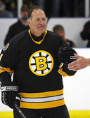 Boston Bruins Alumni Hockey Game Reggie Lemelin — Stock Photo