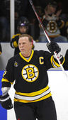 Boston Bruins Alumni Hockey Game Captain Rick Middleton — Stock Photo