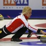 Curling Women Denmark Madeleine Dupont — Stock Photo #44682525