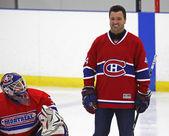 NHL Hockey Stephane Richer Smiles — Stock Photo