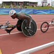 Постер, плакат: Wheelchair athletes race canada