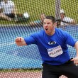 Постер, плакат: Discus throw man canada expression