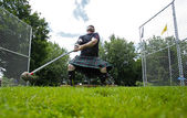 Highland Games Throw Hammer Heavy — Stock Photo
