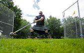 Highland Games Throw Hammer Heavy — Stock Photo