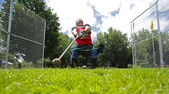 Highland Games Man Hammer Throw — Stock Photo