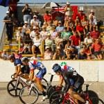 Cycling track start race — Stock Photo #44945879