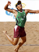 Venezuela Beach Volleyball Man — Stock Photo