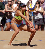 Beach Volleyball Woman Australia Ball — Stock Photo
