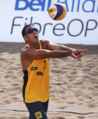 Brazil Beach Volleyball Ball Man — Stock Photo