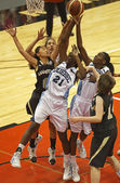 Basketball Quebec Manitoba Rebound — Stock Photo