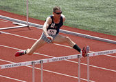 USA American Hurdles Masters Mark Williamson — Stock Photo