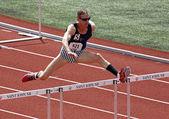 USA American Hurdles Masters Mark Williamson — Stock Photo