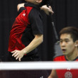 Постер, плакат: Badminton canada game match