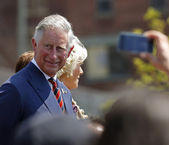 Prince Charles Camilla Saint John 2012 — Stock Photo
