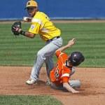 Senior league baseball world series players — Stock Photo #45278419