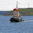 Постер, плакат: Tugboat theodore too halifax harbor