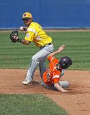 Senior league baseball world series players — Stock Photo
