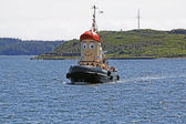 Tugboat theodore too halifax harbor — Stock Photo