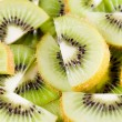 Sliced  kiwi background - Lizenzfreies Foto