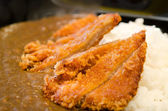 Katsu curry rice — Stock Photo