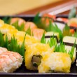 Royalty-Free Stock Photo: Sushi and sushi rolls