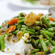 Royalty-Free Stock Photo: Stir fry  chinese cowpea and shrimp