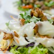 Caesar Salad and cream sauce — Stock Photo #18004327