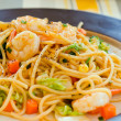 Seafood pasta — Stock Photo #19528365