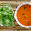 Red curry and vegetable - Stockfoto