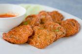 Fried fish cake — Stock Photo
