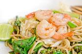 Shrimp pasta — Stock Photo