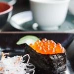 Sushi on dish — Stock Photo #22991612