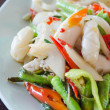 Spicy squid dish — Stock Photo