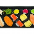 Stock Photo: Top view sushi