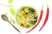 Widok z góry azji stylu żywności — Zdjęcie stockowe