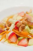 Fruit salad , spicy dish — Stock Photo
