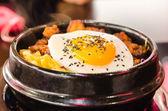 Hot korean dish — Stock Photo