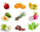 混合水果 — 图库照片