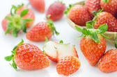 Ripe red fruits — Stockfoto