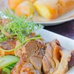 Stewed pork — Stock Photo #41362651