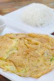 Thajské omeleta — Stock fotografie
