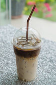 Iced coffee — Stock Photo