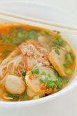 Spicy noodles — Zdjęcie stockowe