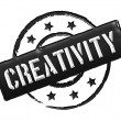 Stamp - creativity — Stock Photo #12062827