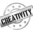 Stamp - creativity — Stock Photo #12063532